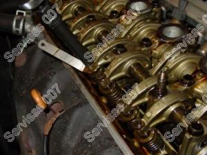 Vožtuvu tarpeliu reguliavimas honda variklyje