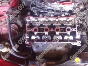 Mazda 323F BG GT kompensatoriu plovimas ir variklio viršaus ardymas