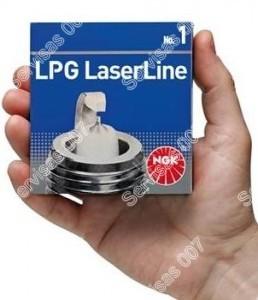 NGK LPG Laserline žvakės skirtos automobiliams su dujų įranga