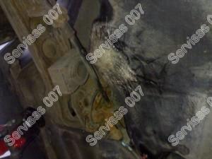 Pradurto kuro bako klijavimas - stiklo audinio klijavimas