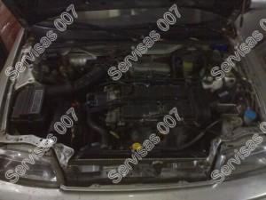 Pakeistas Honda CRX variklis