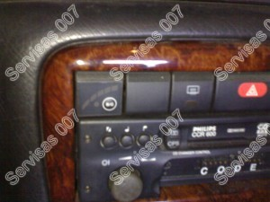 Dujų įrangos perjungimo mygtukas su lygio parodymu Stag dujinės sistemos