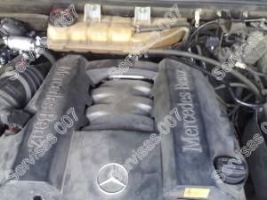 Dujų montavimas - sumontuota dujų įranga į Mercedes ML