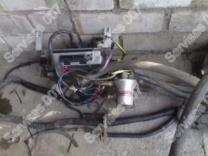 Olandiška dujų įranga išmontuota iš Passat B5 automobilio