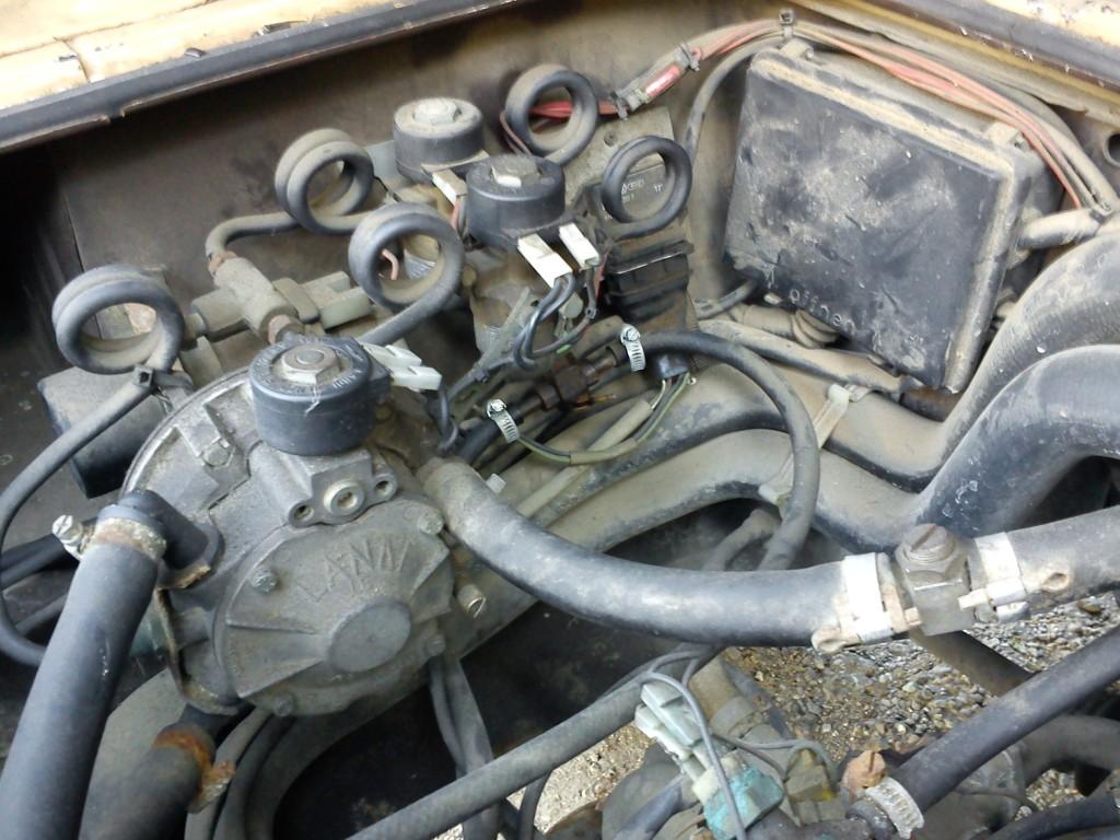 Dujų įrangos modernizavimas Servise 007