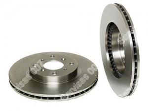 Ventiliuojamas stabdžių diskas