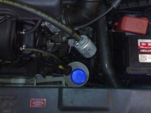 VVT-i variklis į kurį montuojama Flashlube sistema
