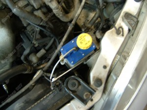 Sumontuotas vožtuvų sergėtojas Honda Accord 2.0 Vtec automobilyje