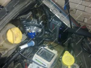 Visi kontaktai montuojant dujinę įrangą yra lituojami