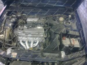 Mitsubishi Galant 2.0 prieš sumontuojant dujų įrangą STAG
