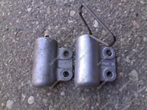 NTN hidraulinis įtempėjas, kairėje senas, dešinėje naujas - Identiški.