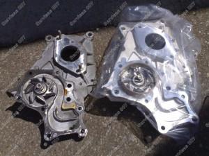 Palyginame seną ir naują vandens pompą Toyota D-4D varikliui.