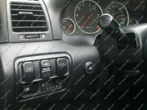 Dujų įrangos BRC perjungimo mygtukas Honda Prelude 2.2 vti salone