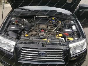 BRC Sequent Boxer sumontuota į Subaru Forester automobilį