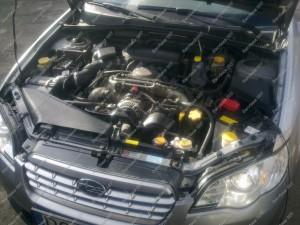 Subaru Outback - sumontuota BRC Sequent Boxer dujų įranga