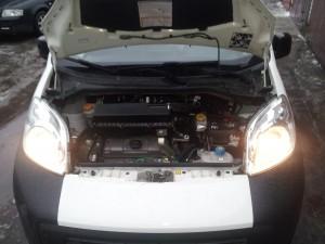 BRC Sequent 32 dujų įrangos montavimas Servise 007