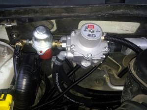 BRC Sequent 32 dujų įranga montuojama į Subaru Legacy 2.5 Servise 007