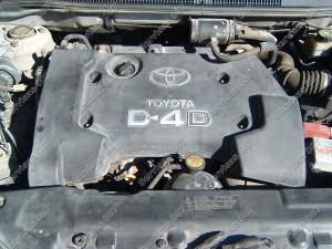 Toyota D-4D variklio apsauga viršutinė