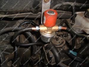 Elektromagnetinis dujų vožtuvas BRC - jame yra skystos dujų fazės filtras