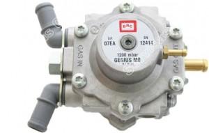 BRC Genius dujų reduktorius montuojamas kartu su BRC Sequent 24 dujine įranga