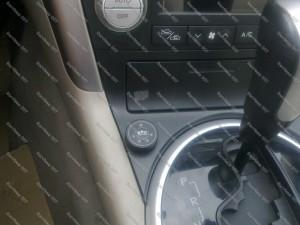 Dujų jungiklis BRC automobilio Subaru Legacy salone