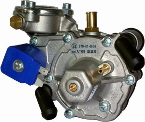 Tomasetto At 09 dujų reduktorius kurį montuojame į Mitsubishi Galant 2.0 automobilius