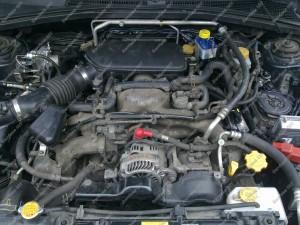 BRC Plug And Drive Boxer dujų įranga sumontuota į Subaru Forester