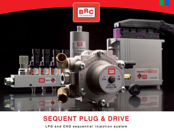 BRC Plug And Drive dujų įrangos montavimas