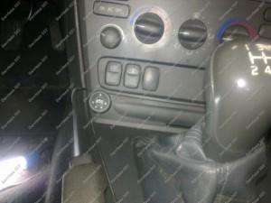 BRC dujų perjungimo mygtukas