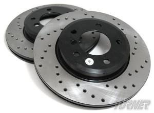 Sugręžioti stabdžių diskai geresniam stabdžių diskų aušinimui
