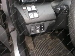 Honda FRV salone esantis BRC dujų jungikliukas - Servisas 007