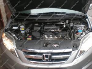 Sumontuota dujų įranga BRC į Honda FRV automobilį Servise 007