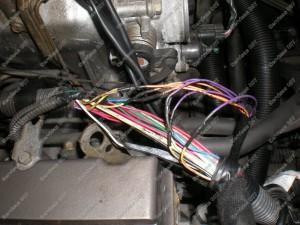 Laidų litavimas ir izoliavimas termo kembrikais Servise 007 montuojant BRC dujų įrangą į Honda FRV;