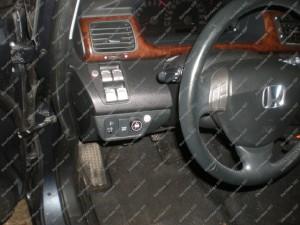 Dujų jungiklis BRC automobilio salone - Servisas 007