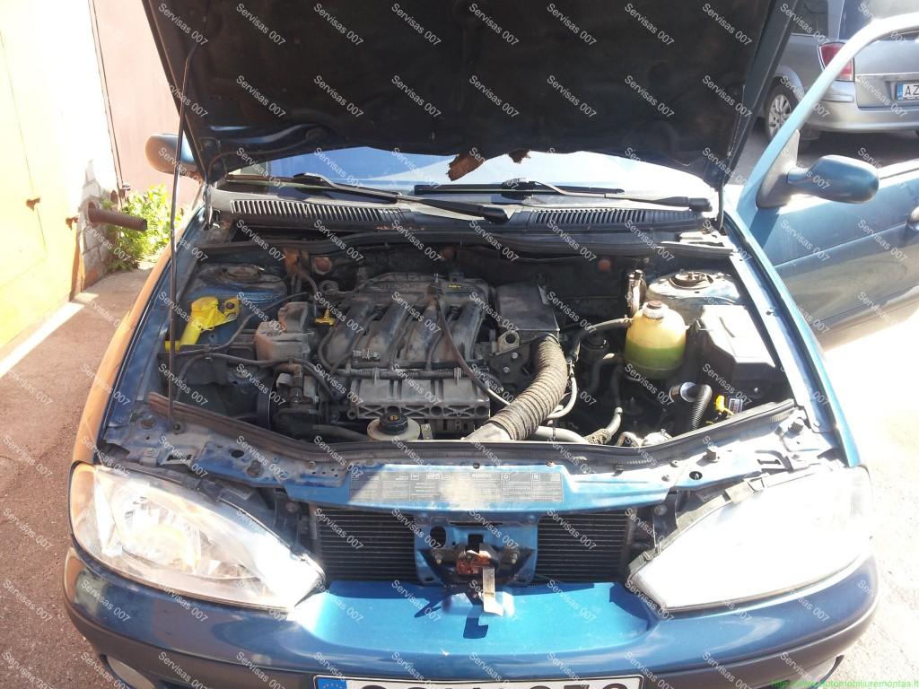 STAG QBox dujų įranga sumontuota į Renualt Megane Servise 007