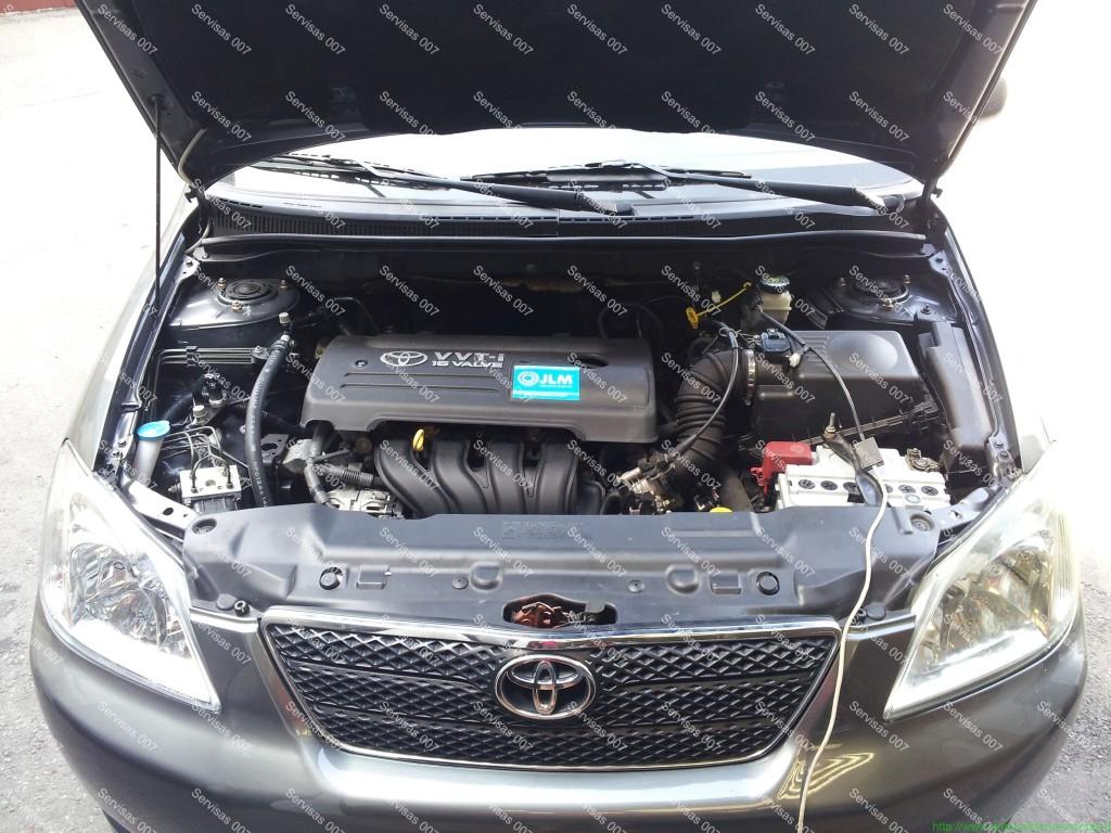 STAG QBox dujų įranga sumontuota į Toyota Corolla 1.6 VVT-i