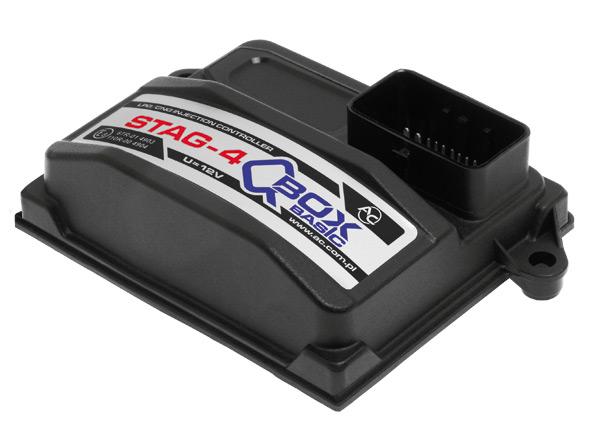 STAG QBox Basic dujų įranga Servise 007