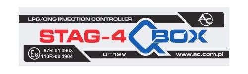 STAG QBox dujų įrangą montuojame Servise 007