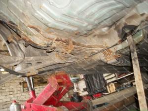 Gerokai aprūdiję kuro vamzdukai Honda Accord automobilyje;