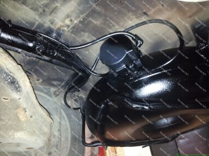 Išorinis dujų balionas padengtas antikorozine danga Servise 007
