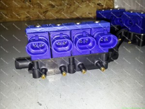 OMVL REG FAST dujų purkštukai montuojami Servise 007