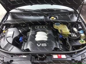 Liaudyje mėgstamas ir vis dar populiarus Audi A6 C5 2.4 V6 - taip pat puikiai rieda su OMVL REG FAST purkštukais!