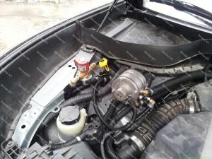 Infinity FX35 su Baracuda dujų purkštukais sumontuotais Servise 007