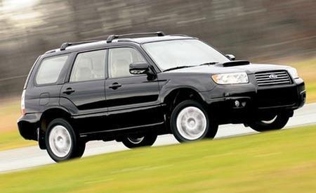 Dujų įranga BRC Plug and Drive sumontuota Servise 007 į Subaru Forester 2.5 Turbo