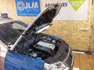 VW Passat B6 2.0 TFSI - dujų įrangos montavimas Servise 007