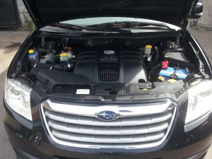 Dujų įrangos BRC montavimas į Subaru Tribeca H6 Servise 007
