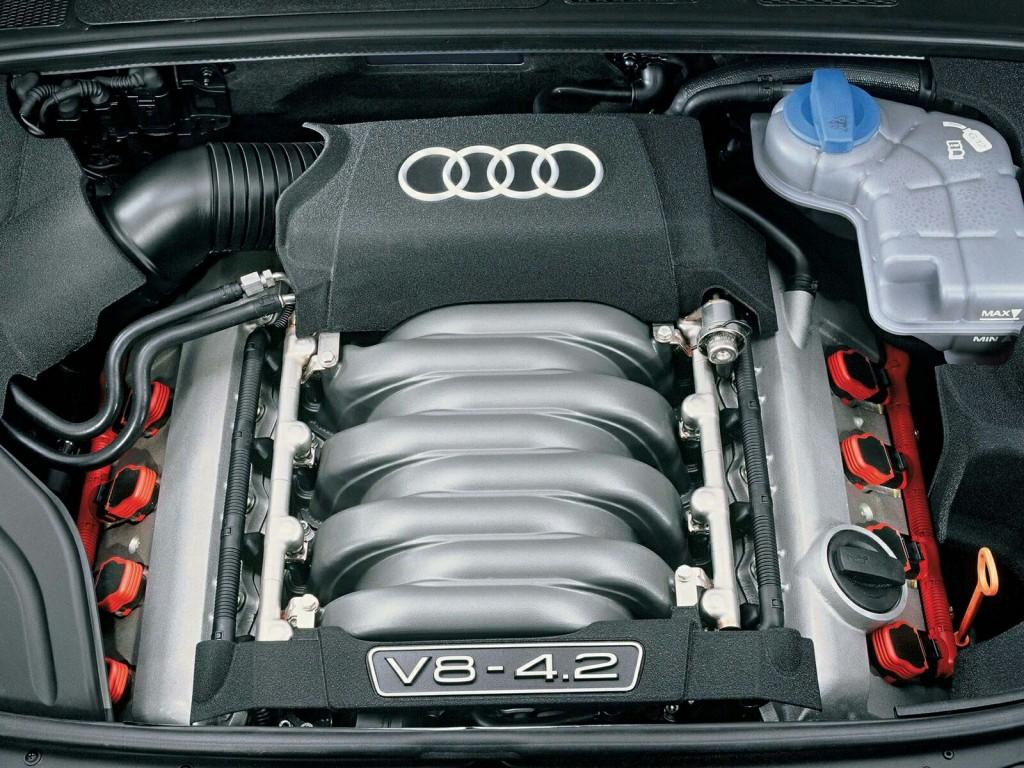 Audi S4 4.2 V8 Servise 007 į kurią montuosime dujų įrangą STAG QMax Plus