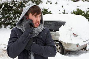 Neužsikuriantis žiemą dyzeliniu varikliu varomas automobilis