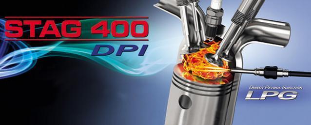 STAG 400 DPI dujų įrangos montavimas į Direct tipo variklius