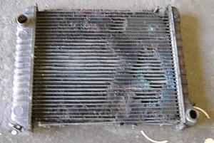 Senas iškorėjęs radiatorius